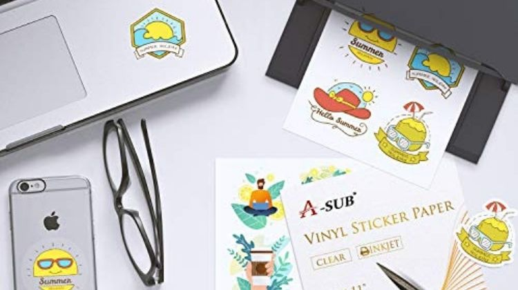 How To Print On Clear Sticker Paper