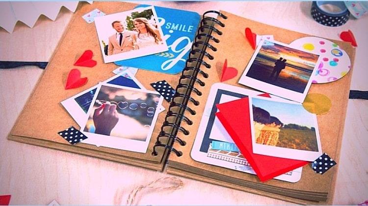 How To Make A Homemade Scrapbook