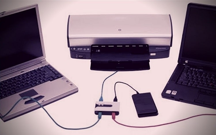 How To Connect Two Computers To One Printer Using USB