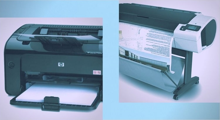 What Is The Difference Between A Plotter & A Format Printer?